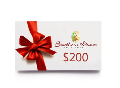 200 Gift Card Southern Dunes